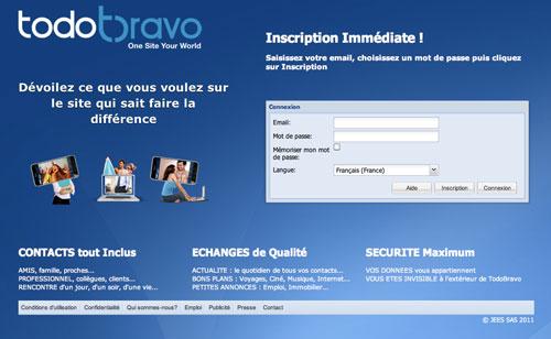 Jean-réseau social TodoBravo et préservation de la vie privée