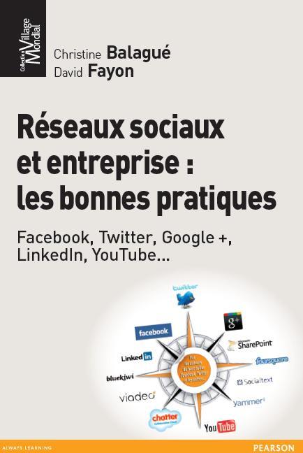 Livre Réseaux sociaux et entreprise