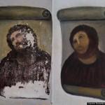 Restauration du Christ de Borja en Espagne