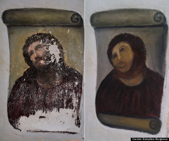 Restauration du Christ de Borja