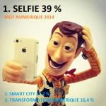 Selfie élu mot numérique 2013 avec 39 % des voix