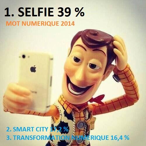 Selfie mot numérique 2014