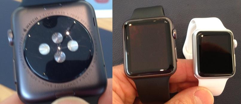 L'Apple Watch et ses capteurs