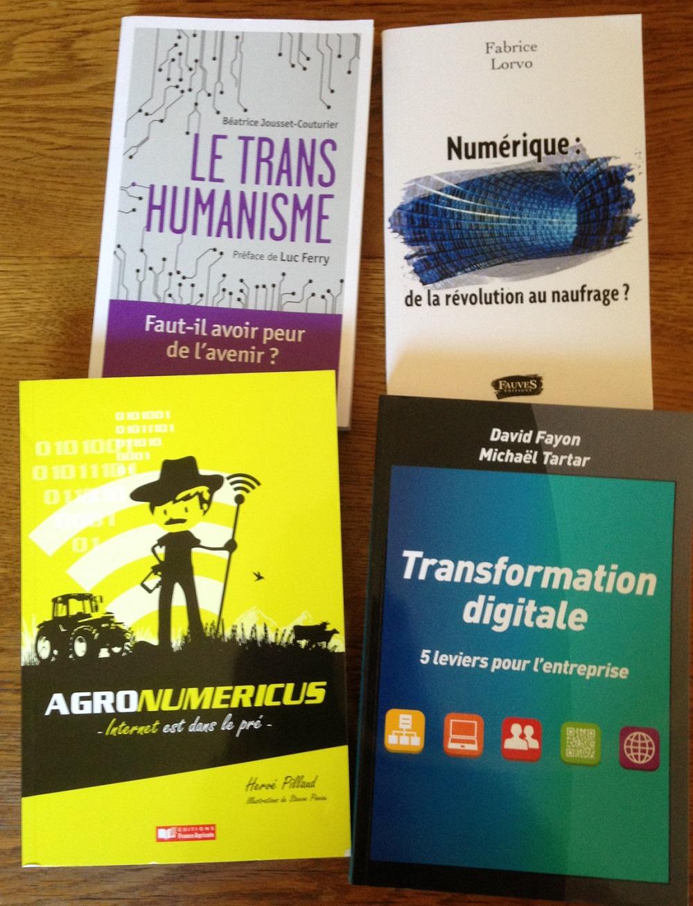 livres dans le numérique/digital à lire