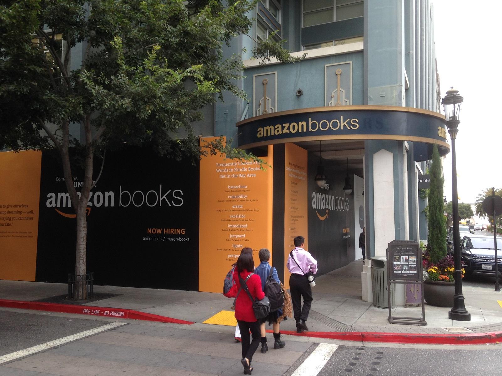 Ouverture d'une boutique Amazon Books