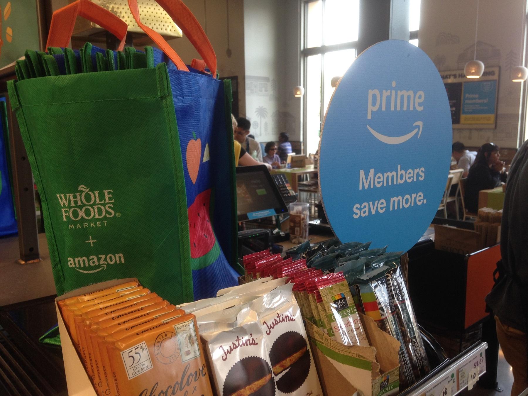 Les réductions dans les magasins Whole Foods avec Amazon Prime