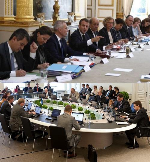 Conseil des ministres, l'exemple de l'Estonie