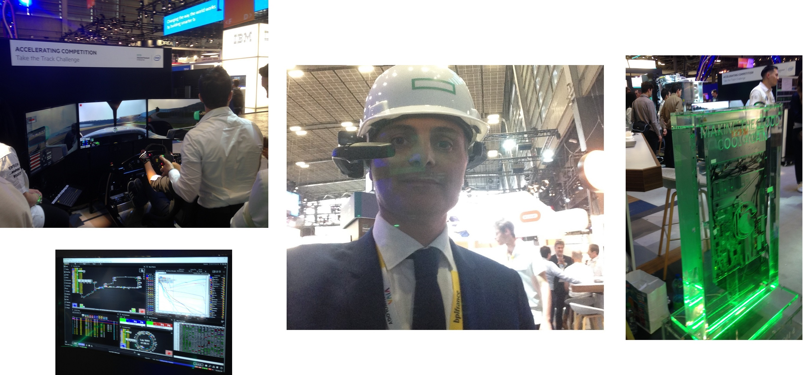 Les innovations sur le stand HPE