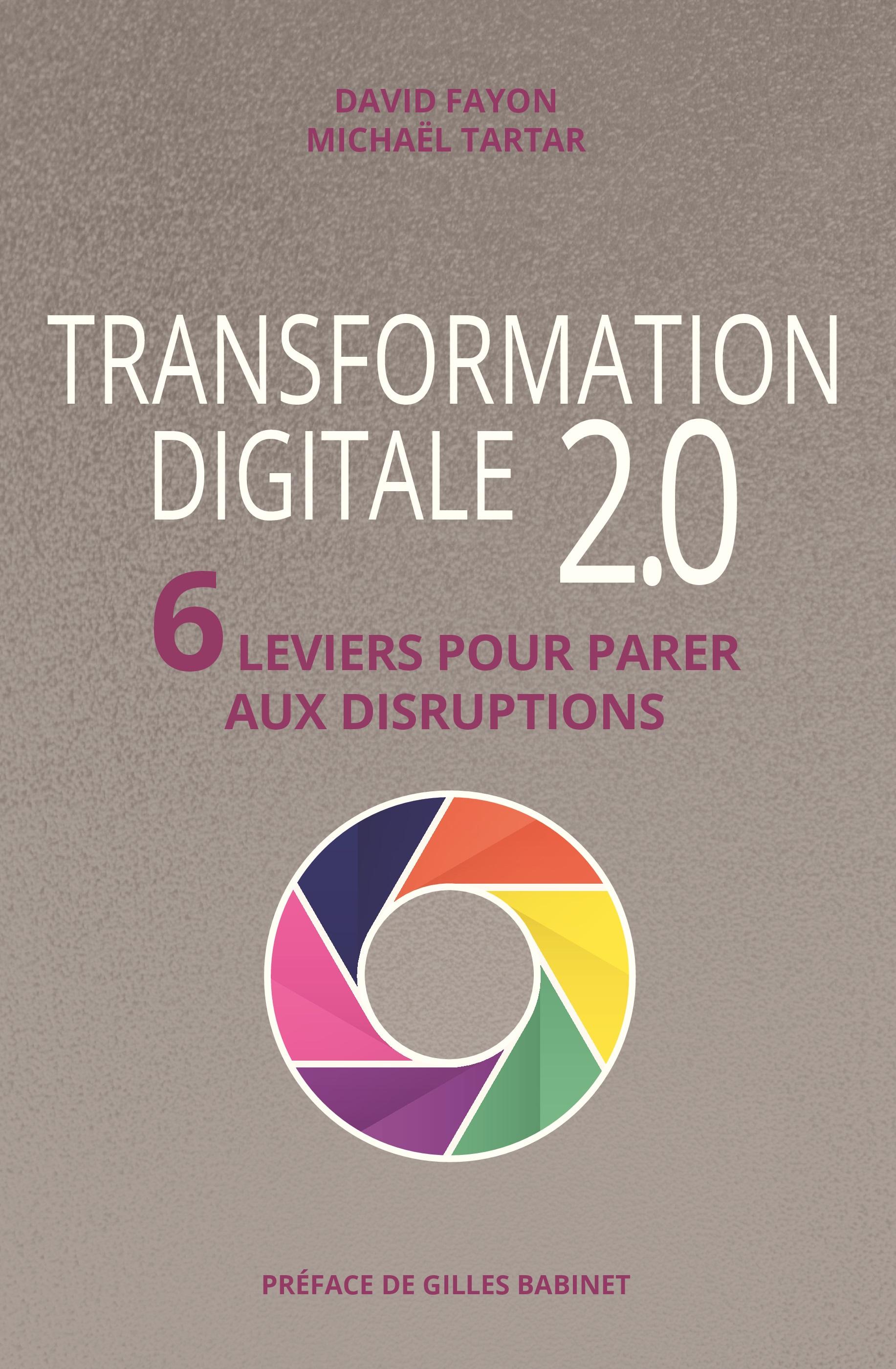 Livre Transformation digitale 2.0 - 6 leviers pour parer aux disruptions