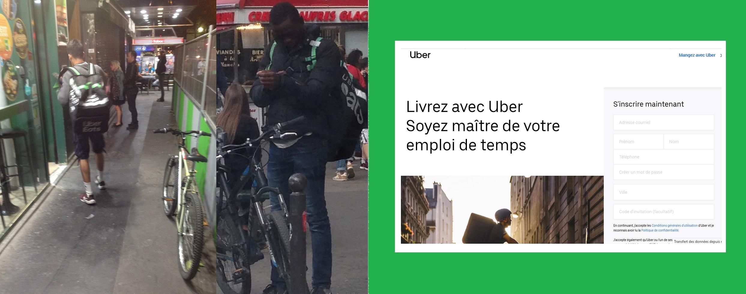 Enquête sur les livreurs Uber, ces nouveaux travailleurs indépendants