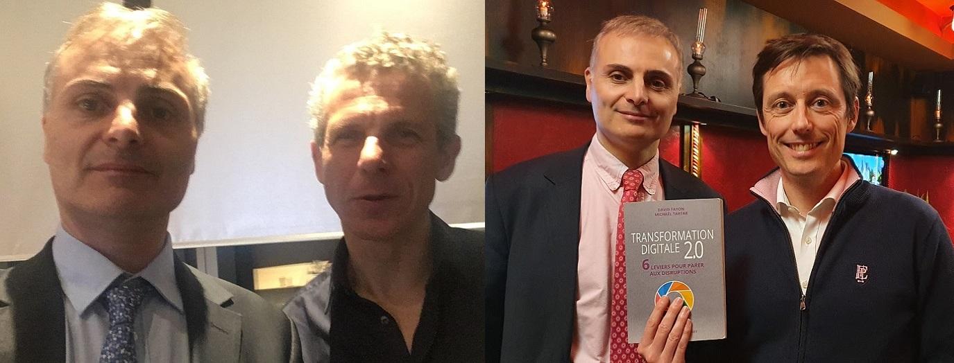 Gilles Babinet, David Fayon et Michaël Tartar, transformation digitale