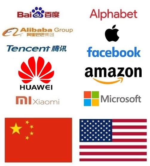 Les Etats-Unis superpuissance numérique et l'avènement de la Chine