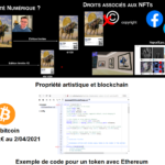 Blockchain : bitcoin, art et exemple de token