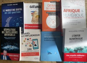 Sélection de livres au rayon numérique pour 2021